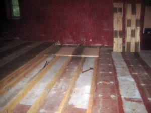 Auditorium floor