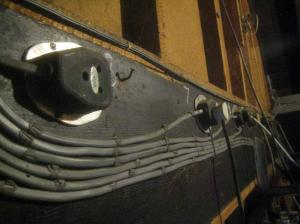Number one bar's cabling.