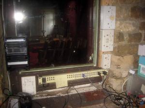 Control room - 'sound' side
