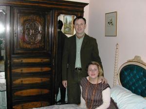 (L-R) Richard Halton and Helen Hayle