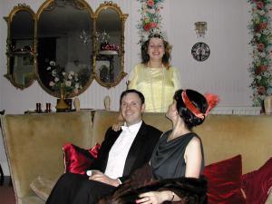 (L-R) Richard Halton, Helen Hayle and Maria Wislack