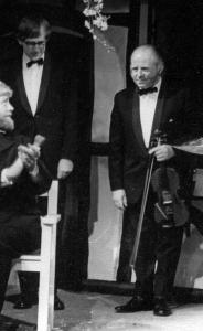 Jim Wilson, piano and Lawrence Fairbrother, violin (musical accompaniment)