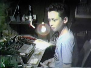 Robert Mayne on sound for Hay Fever in 1990
