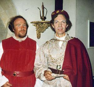Mike Davies and James Harper (Sir Sagramore)