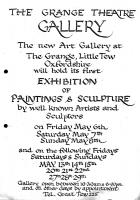 1972 exhibition poster (date to be calculated)