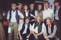 The Miners: Back Row L-R  Peter Cornah, Matthew Summers, Brian Clarkin, Alan Harrow, Peter Burley, Jim Harper, Jonathan WillsonFront Row L-R  Rob Gorton, Ted Shears, Karl Hammarling