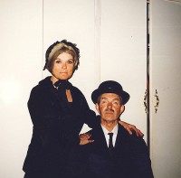 Jackie and Jim as Mama and Dada in their Sunday best.