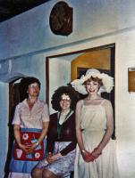 l-r: Miriam played by Jill Edwards, Maggie (Louise Davies) and Sharon (Catherine Nightingale)