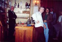 L-r: Fred Temlett, ?, Peter Burley, Bruce Finlay