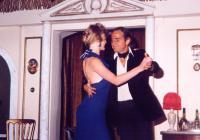 Shall we dance? Peter Burley (Baldassare Pantaleone) asks Lindsay.