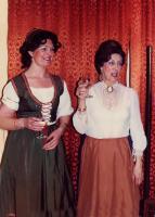 Jill Edwards (Louka) and Joan Bayman