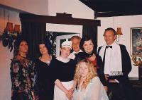 l-r:  Kipper Chipperfield, Pat Stubbs, Ellie Fensome, Peter Buckman, Jackie Finlay, Catherine Geekie, Simon Wormald