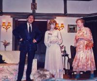 Peter, Jackie and Lavinia - Vinnie - Jenner (Madame Arcati)