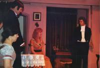 Pat, Gerry Senior, Lindsay and Adam