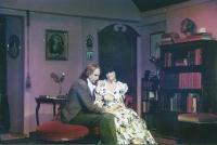 Peter Burley (Robert Browning) and Jackie