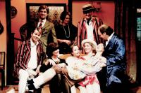 Entire Cast - David Ford, Sheila Nickolay, Rob Gorton, (seated Adam Hurst,Jackie Finlay, Laura Pedder, Jessica Goyder, Jeanne Pedder, Bruce Cunningham