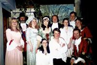 The CastElaine Donnelan, (Carver Doone character??), Gillian Iredale, Jean Pedder, Bruce Cunningham, Laura Pedder, Jonathan Wilson, ?? (seated (Lorna Doone ??), Rob Gorton, Adam Hurst)