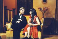 David Ford (Richard Greatham) and Jackie Finlay (Judith Bliss)