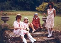 L-r Deborah Nock (Mary McGregor), Angela Liversedge (Jenny), Caroline Finlay (Monica), Lucy Thorne (Sandy)
