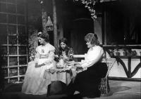 The two sisters (Maud and her younger sibling Anne Marie - played by Karen Faulkner) are addressed by Lucy the governess.
