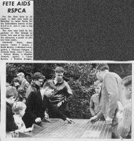 RSPCA newspaper clipping, 1960