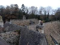 Some of the Grange's roofs