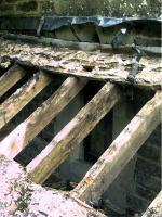 Rafters in desperate need of repair