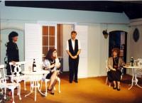 Skittles: Jackie Finlay (Sarah Gold), Deborah Lynch (Sally Noon), Adam Hurst (Waiter), Elaine Donnellan (Sally Knight)