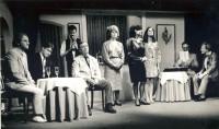 Skittles: Peter Burley (Monty Gold), Rob Gorton (Paul Kiernan), Adam Hurst (waiter), Brian Clarkin (Robin Knight), Elaine Donnellan (Sally Knight), Jackie Finlay (Sarah Gold), Deborah Lynch (Sally Noon), Jim Harper (Monsieur Talbot),    Jonathan Willson (Andre Fabius)