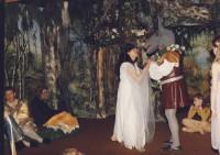 L-r :    Simon Birkett, Lindsay Jacques, Jackie  Finlay, Mike Davies 'a fairy!'