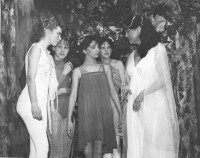 Jackie with fairies….sadly we can't match their names with faces after all this time!  Any ideas anyone?